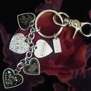 Coach Poppy key chain